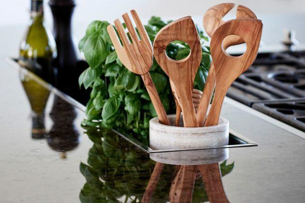 Natürliche Arbeitsplatten für die Küche - Modell Lunchs Antique