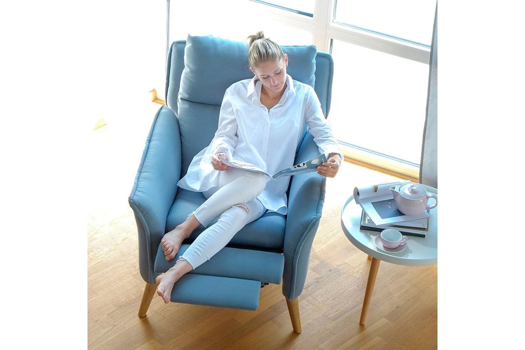 Relaxsessel Insideout kann in 17 verschiedenen Farben ausgewählt werden. - PLACE TO BE.