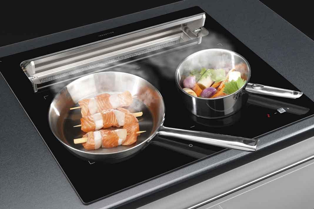 Kochfeldabzug mit waschbarem Filter