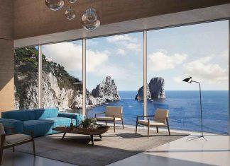 Panoramafenster als Design Fassade