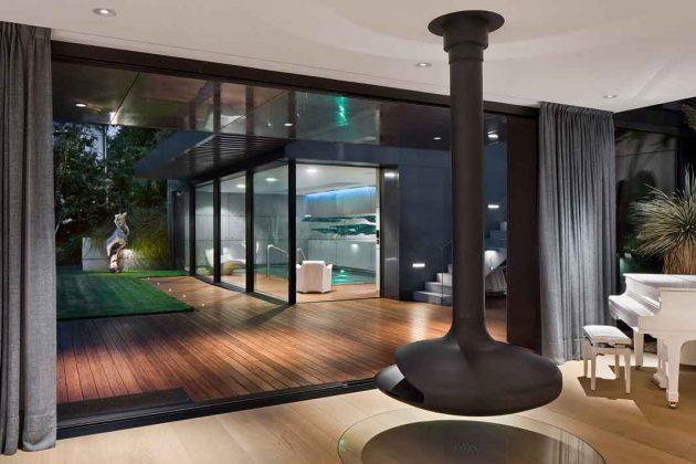 Panoramafenster mit Ausblick