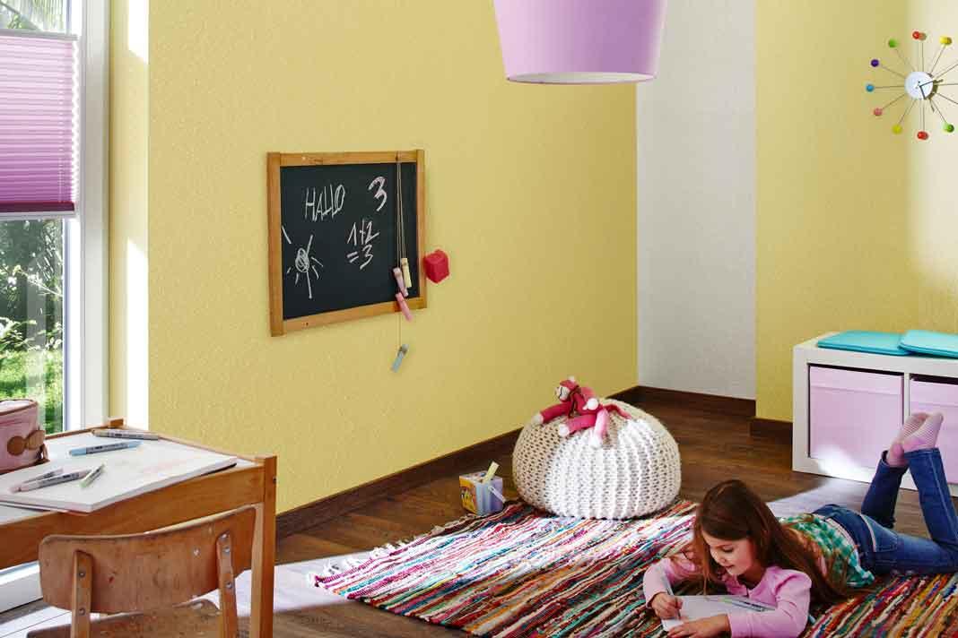 Rollputz fürs Kinderzimmer