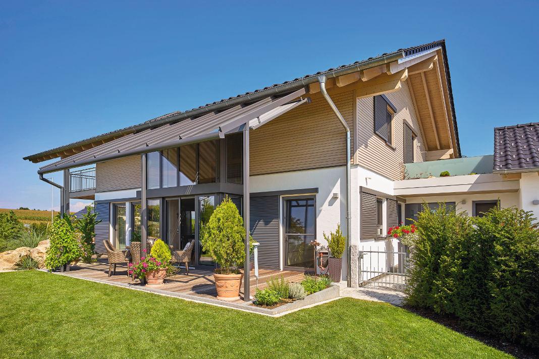 Ein individueller Landhausstil á la Countrystyle - Sonnleitner Holzbauwerke GmbH & Co. KG