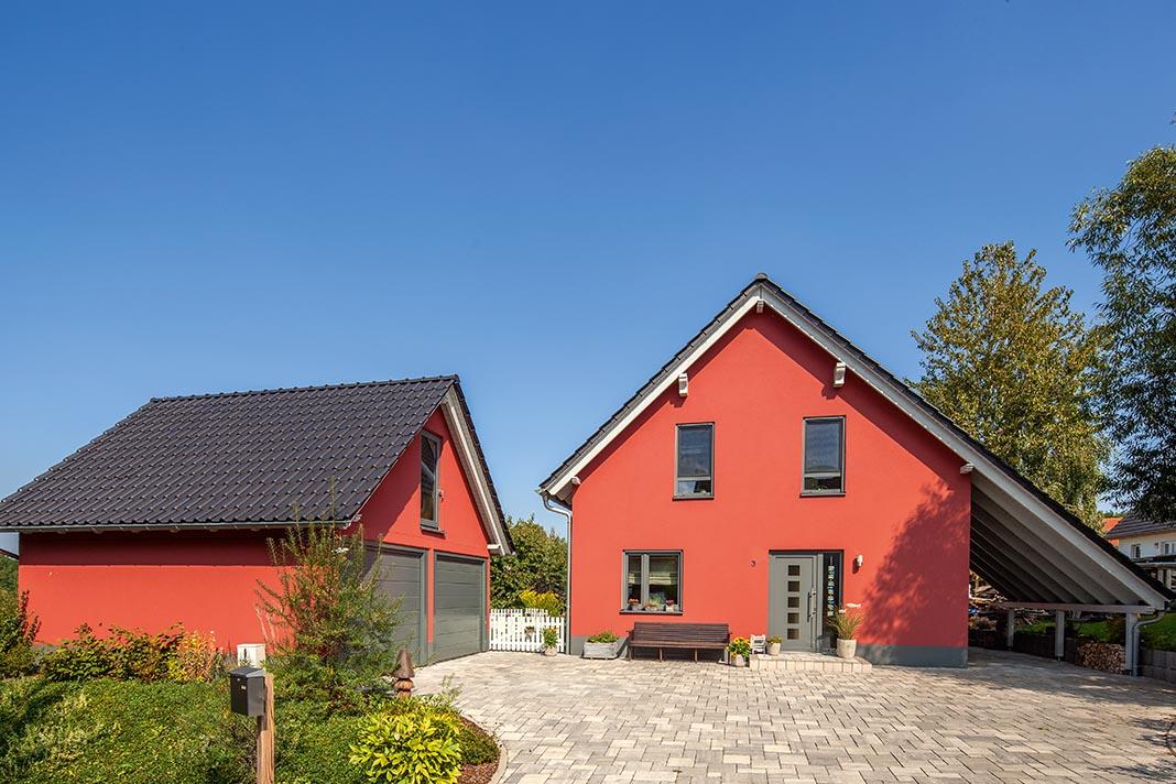 Individuelles Landhaus in Rot - Baumeister-Haus Kooperation e.V.