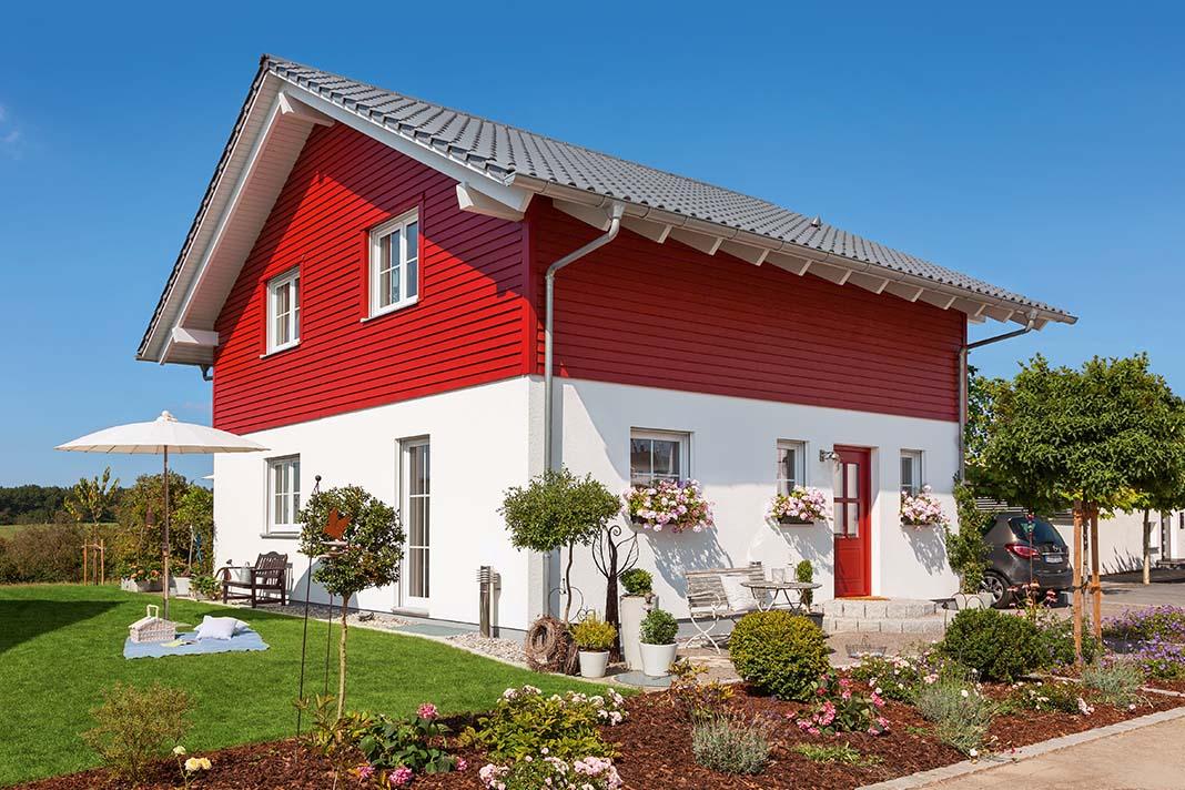 Einfamilienhaus im skandinavischen Landhausstil - SchwörerHaus KG