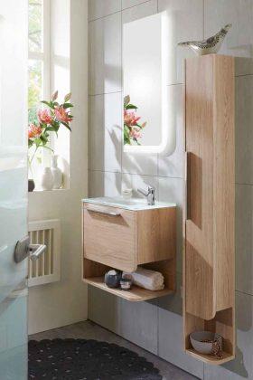 Badmöbel fürs Gästebad aus Holz
