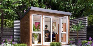 Gartenhaus als Home Office