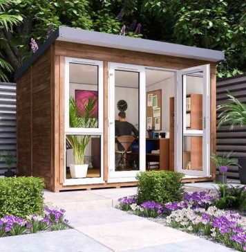 Gartenhaus als Home Office