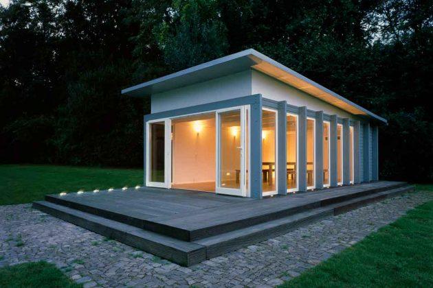 Komfortmodell Gartenhaus