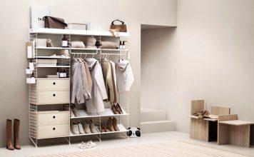 Diele Garderobe im filigranen Design