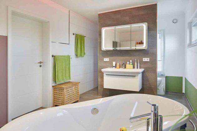 Badezimmer im intelligenten Haus