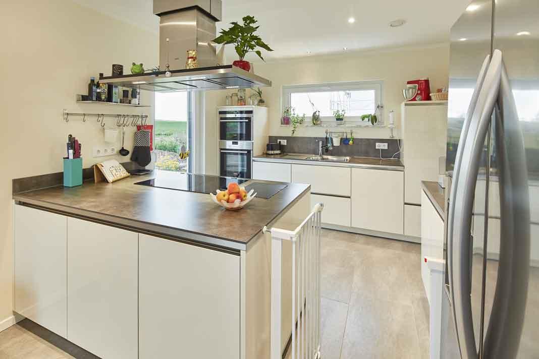 Küche im intelligenten Haus