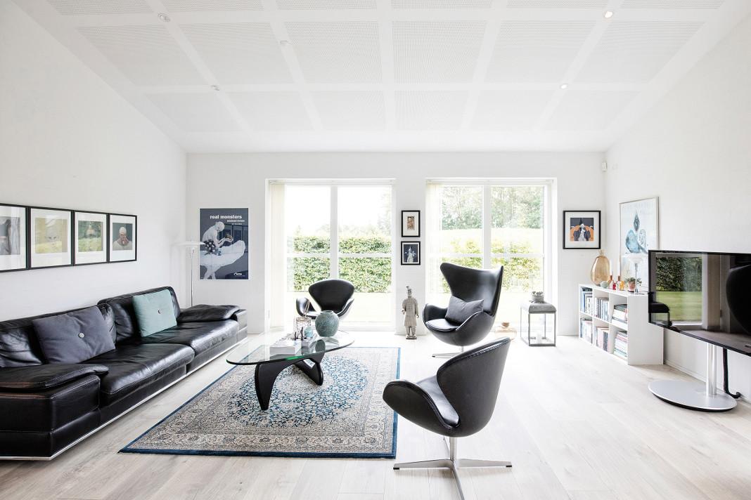 Dezente und elegante Inneneinrichtung im gemütlichen Schwedenhaus - epr/Danhaus