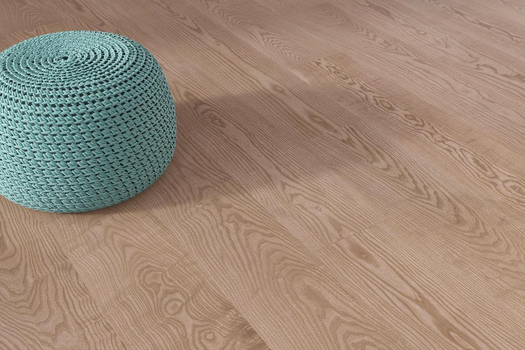 natürliche Holzfußboden von mafi - Detailansicht