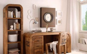 Home Office Möbel Holz