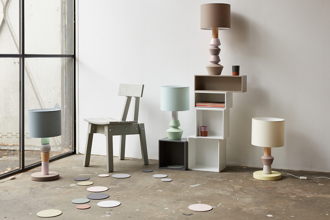 individuelle, modulare Lampe