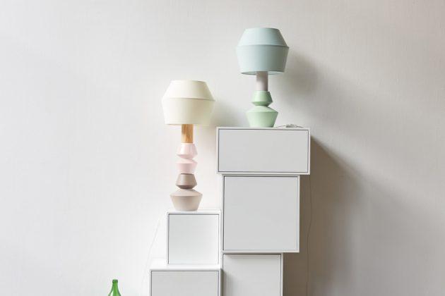 modulare Tischlampen