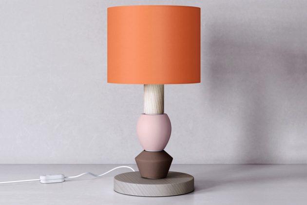 bunte Lampe