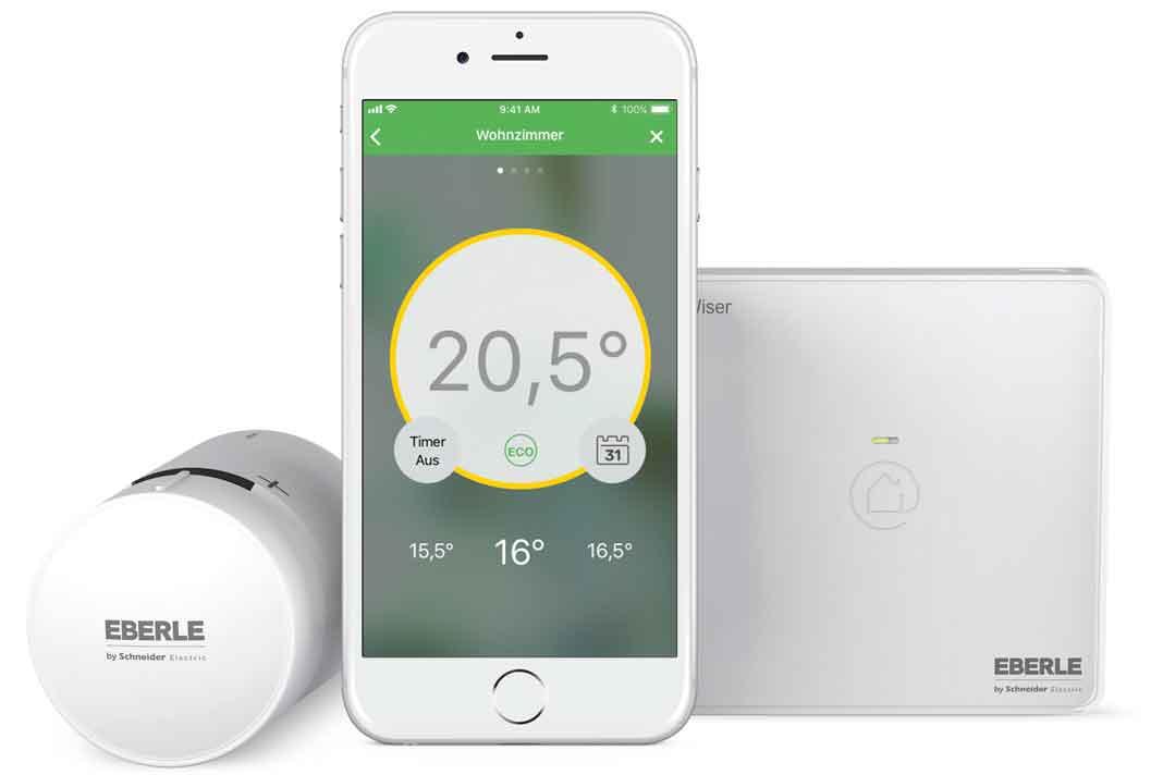 Smarte heizungssteurung per Smart Phone
