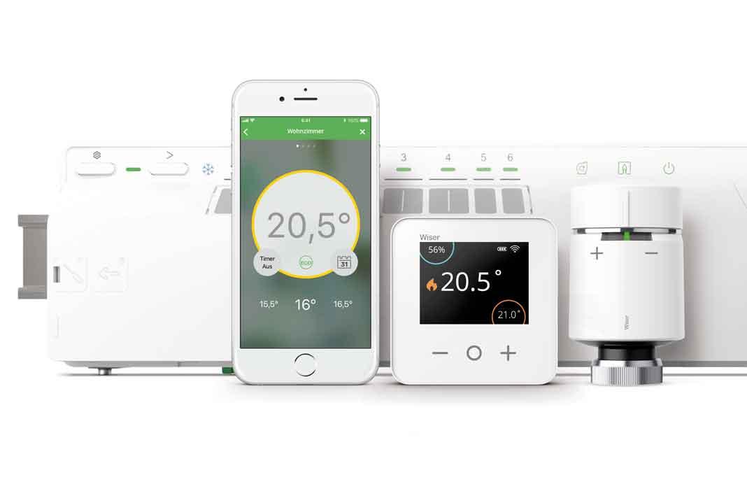 Produkte Smart Home Klimasteuerung