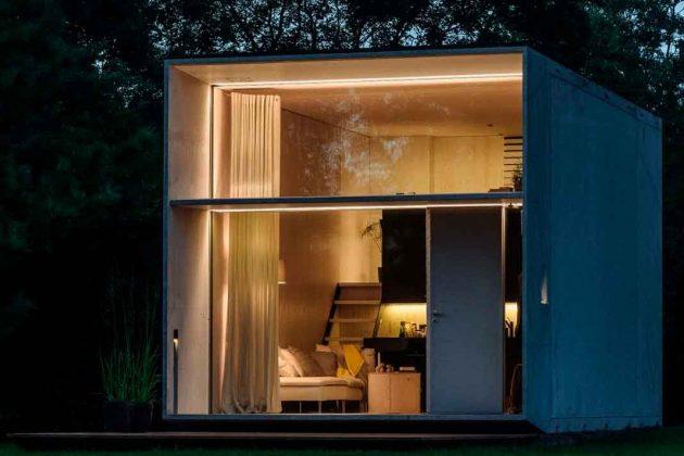 Tiny House mit hohen Decken