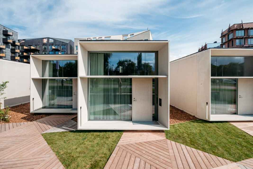 Tiny House benötigt wenig Grundfläche