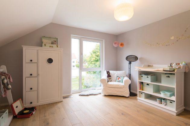 Zwei gleich große Kinderzimmer - Platz für zwei Generationen - FingerHaus GmbH