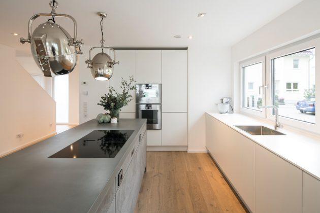 Praktischer und stilvoller Stauraum in der Küche - FingerHaus GmbH
