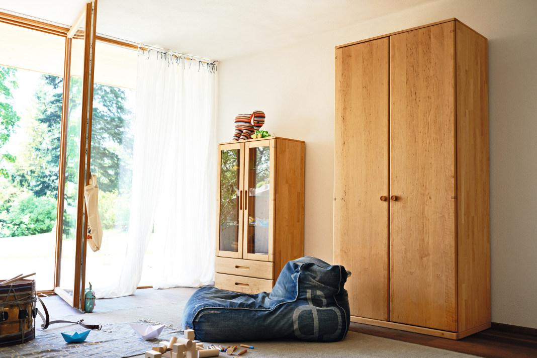 Neue Ideen fürs Kinderzimmer - Schränke aus Holz - TEAM 7