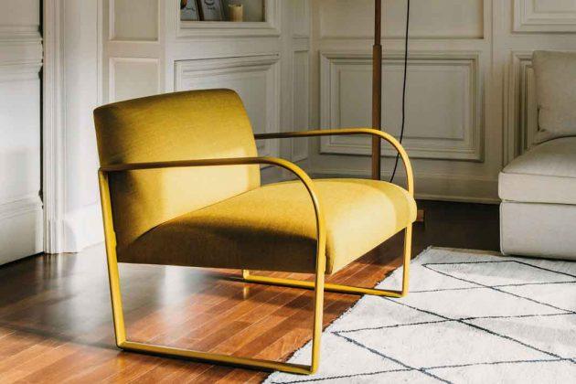 gelber Sessel
