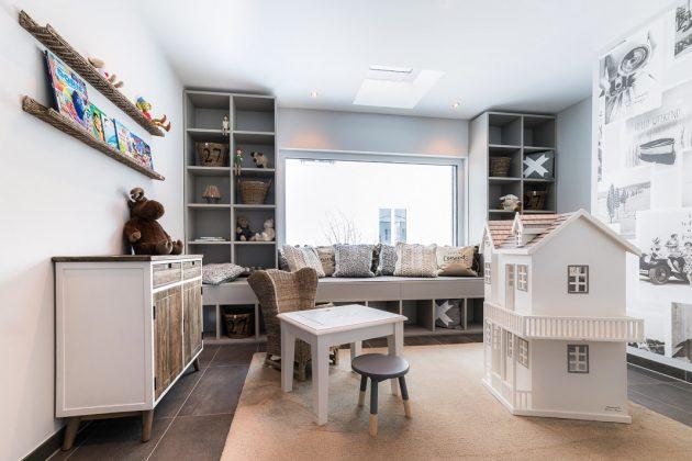 Kinderzimmer im DG - familienfreundliches Musterhaus in Poing - FingerHaus GmbH