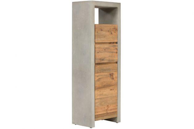 Individuelle Badmöbel für große und kleine Räume - Hochkommode - massivum