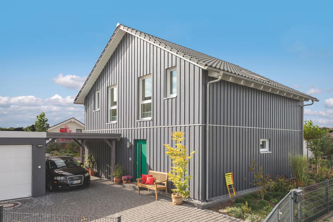Modernes Schwedenhaus mit zwei Generationen unter einem Dach. - SchwörerHaus KG