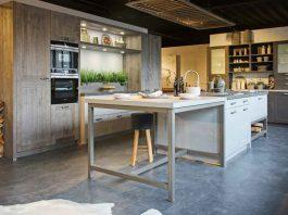 höhenverstellbare, ergonomische Küche