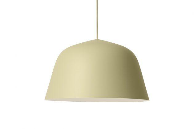 Grüne Lampe im Lagom Design