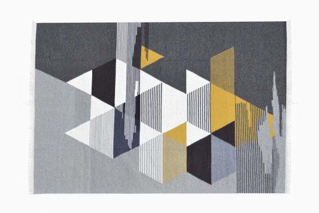 Teppich mit Muster im Lagom Stil Lagom wohnen Trend aus Schweden
