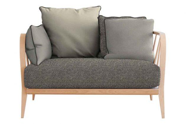 Sofa im Lagom Design Schweden Trend wohnen