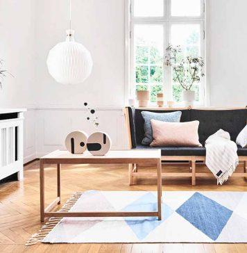 Wohnzimmer im Lagom Stil