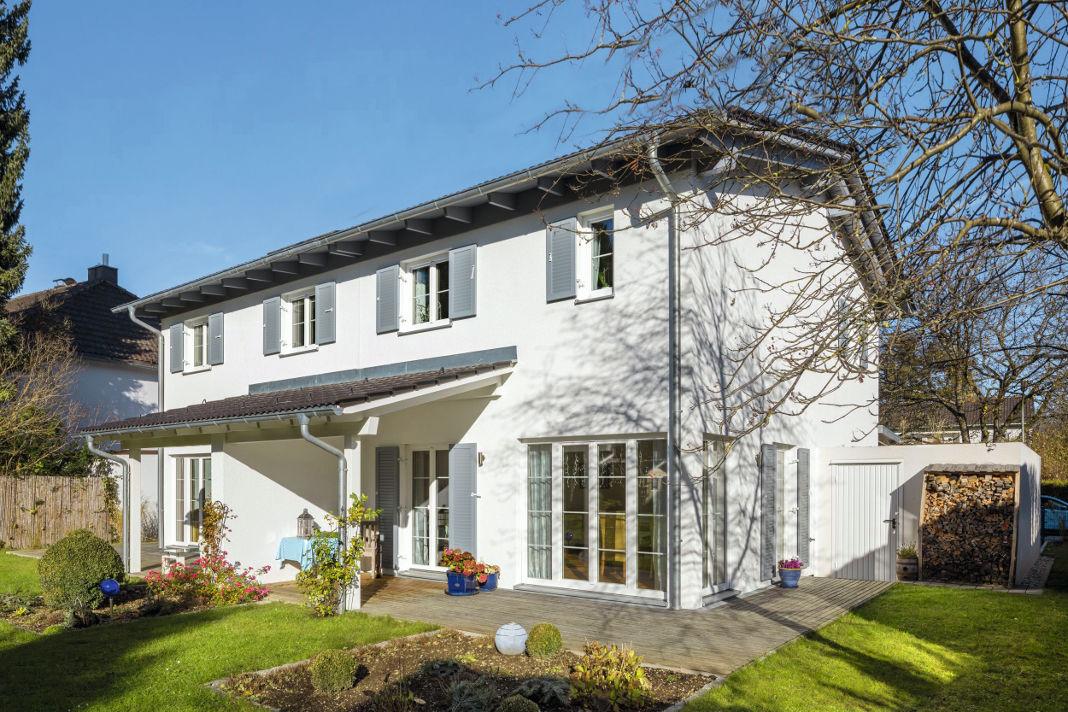 Doppelhaus als Mehrgenerationenhaus - Regnauer Hausbau