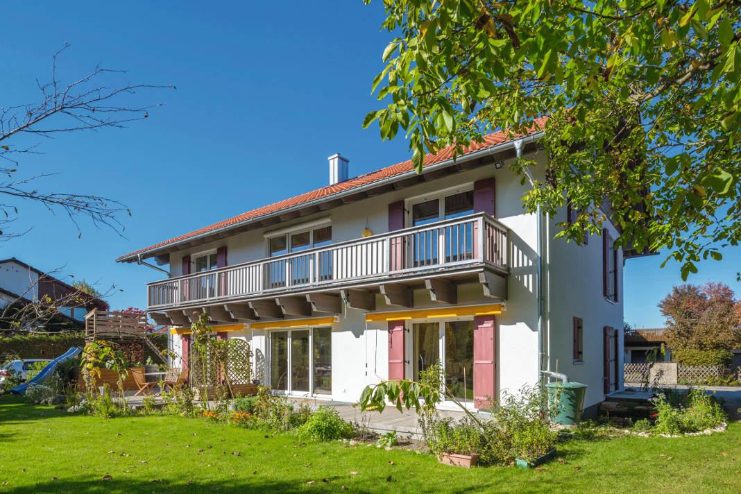 Drei-Generationen-Haus - Isartaler Holzhaus