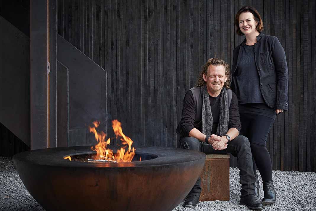 Feuerring-Inhaber Andreas Reichlin und Beate Hoyer