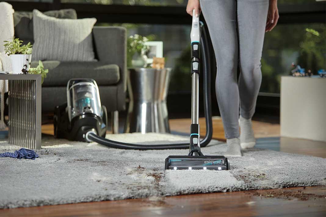 Staubsauger Teppich saubermachen