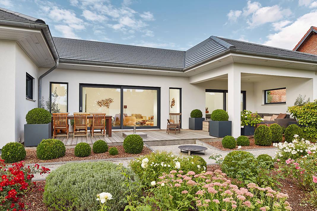 Nachhaltiges Bauen - Bungalow von Luxhaus