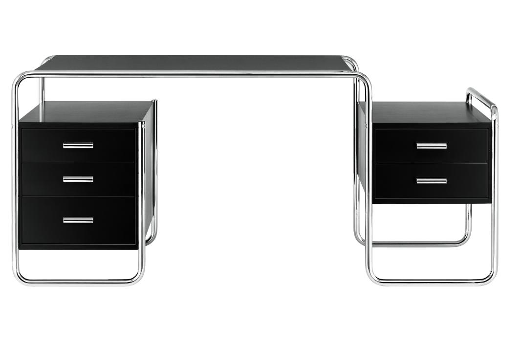 Stahlrohr-Schreibtisches S 285 - Thonet