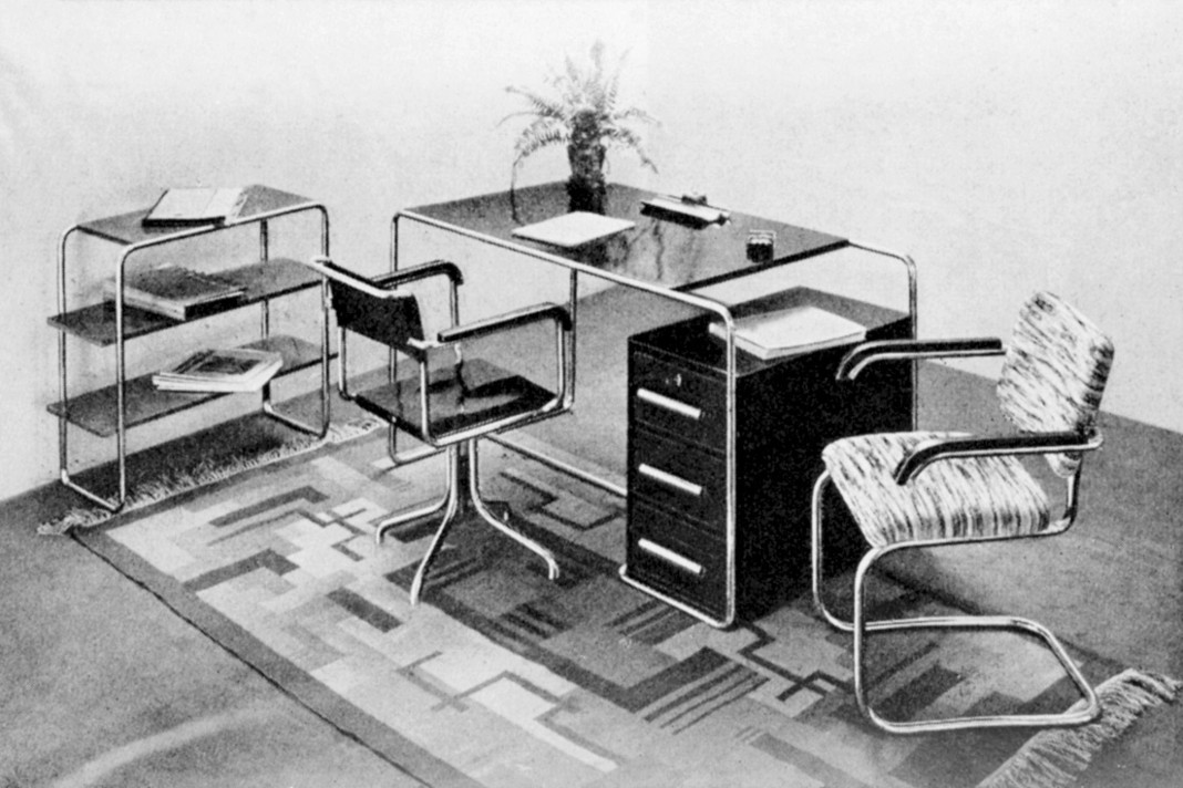 Stahlrohrmöbel á las Bauhaus - Ensemble - Katalog Thonet