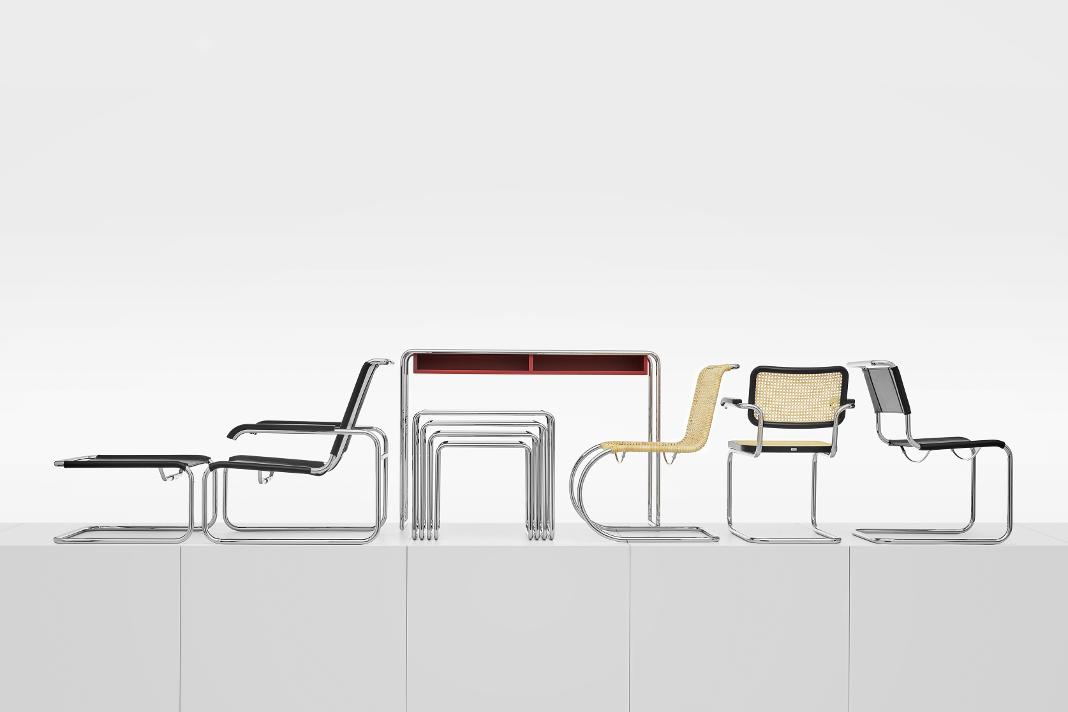 Klassiker - Stahlrohrmöbel á la Bauhaus - Thonet