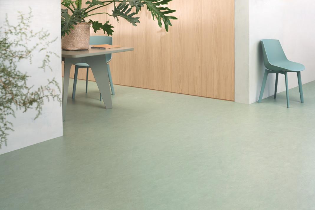 """Individueller Bodenbelag """"Marmoleum"""" von Forbo Flooring"""