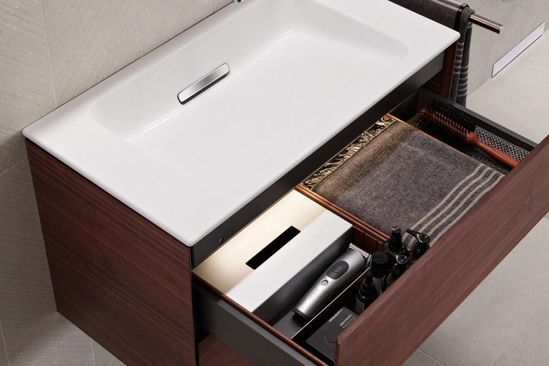 Geberit ONE Waschtischunterschrank - kleines Bad