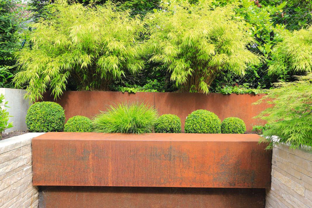Cortenstahl für die Gartengestaltung - Gärtner von Eden