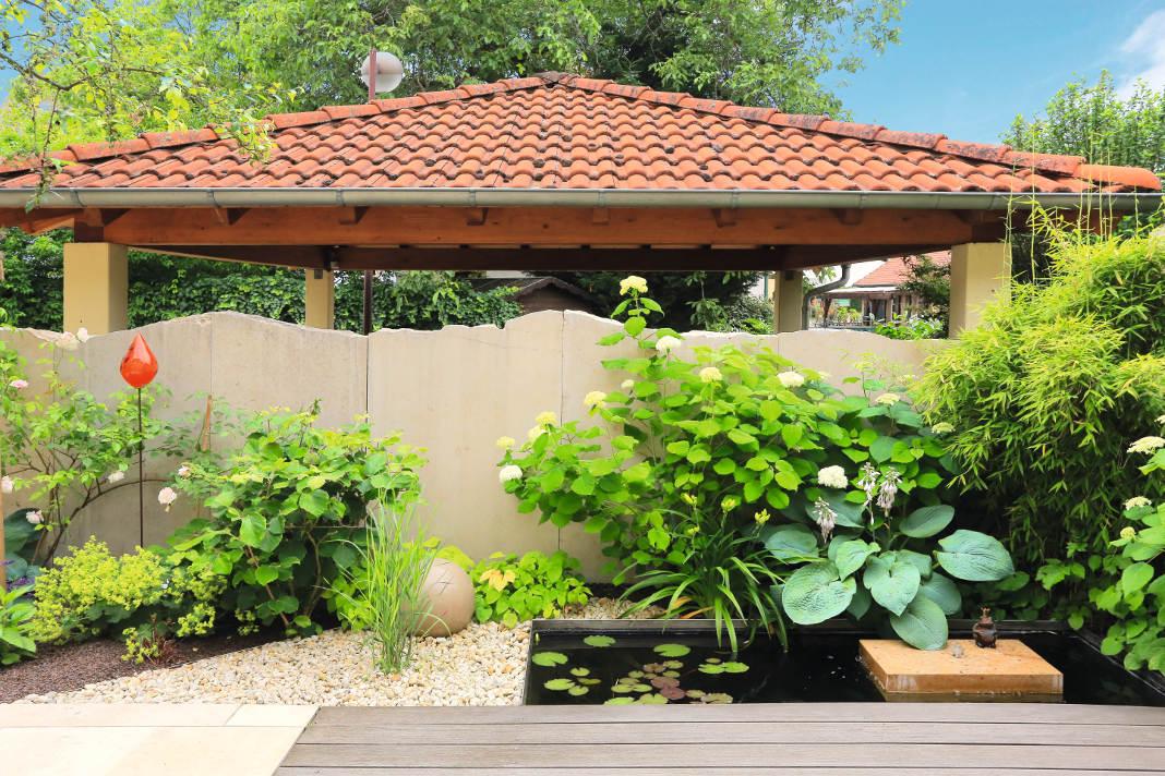 Umgestaltung des Wohngartens - Wasser - Gärtner von Eden